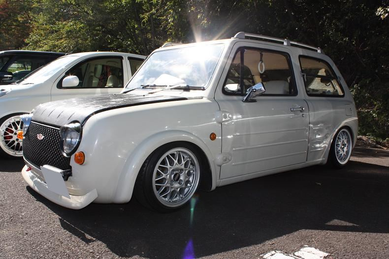 Nissan Pao, PK10, JDM, retro, pike car, limited, unique, classic, japoński, stary, samochód, mały, 日産, 日本車, こくないせんようモデル, パイクカー