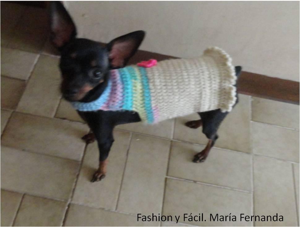 Contemporáneo Patrones De Ganchillo Suéter Libre Del Perro Colección ...