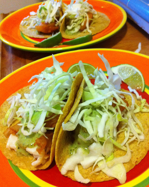 Grad gastronomy best ever fish tacos for Best fish to use for fish tacos