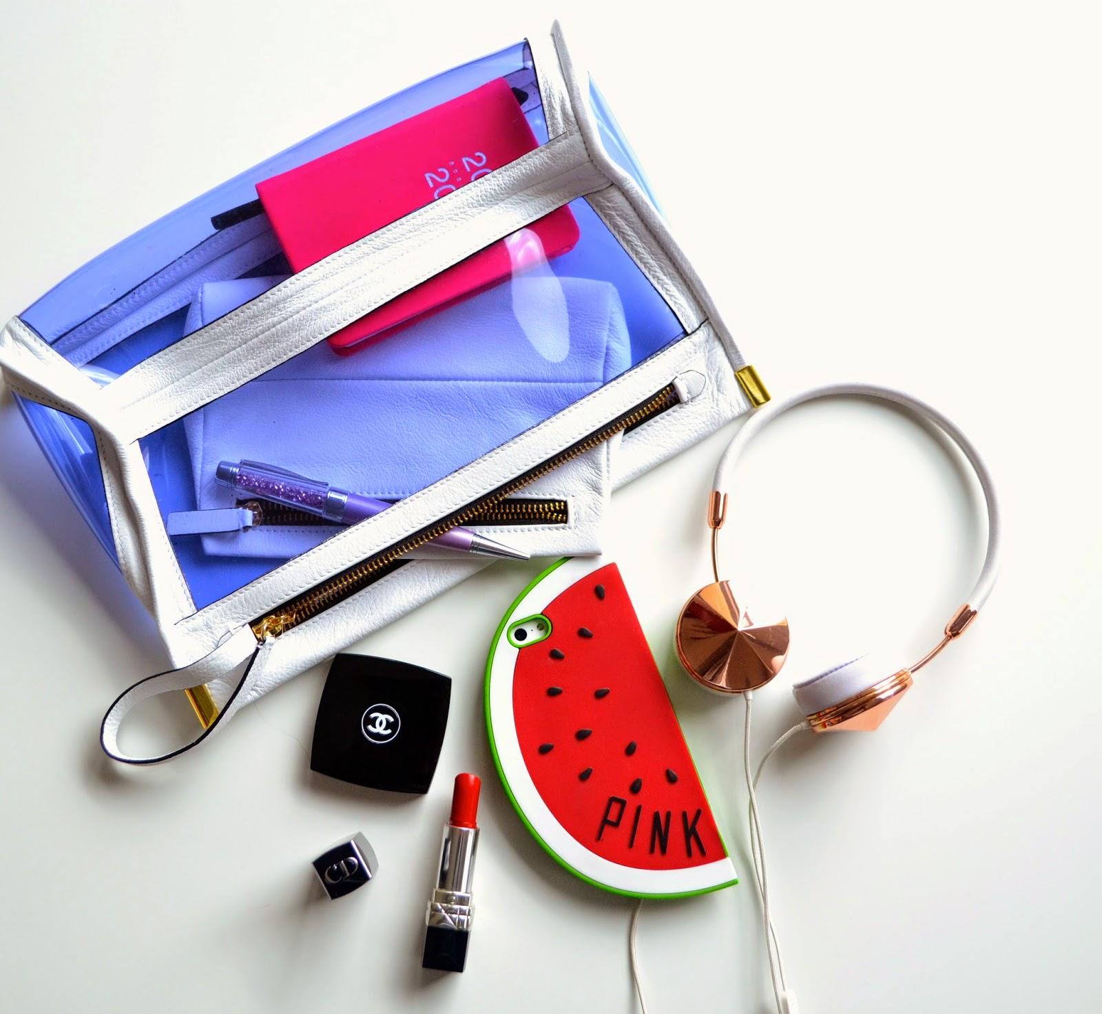 Womens bag essentials