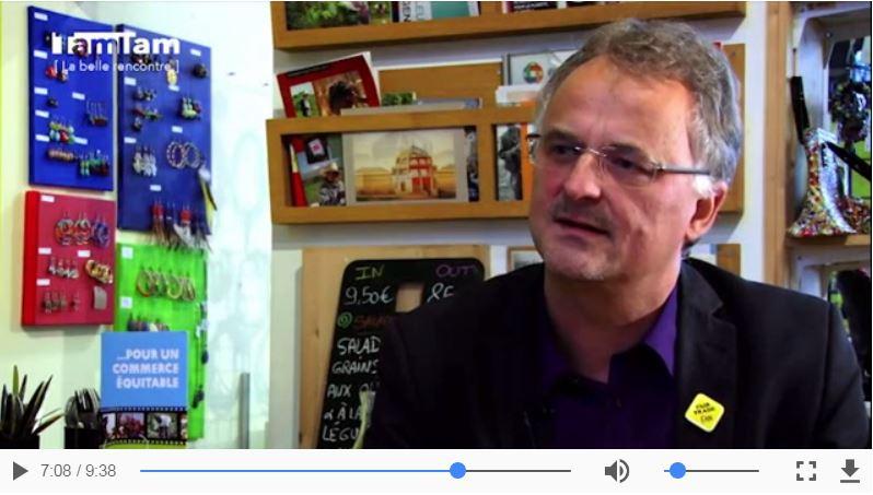 Commerce équitable :  recontre avec Samuel Poos, coordinateur du TDC