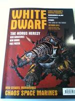 Portada de la nueva White Dwarf de octubre