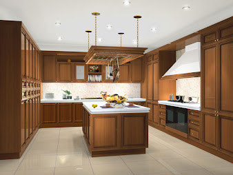 #2 Wood Kitchen Cabinets Design Ideas