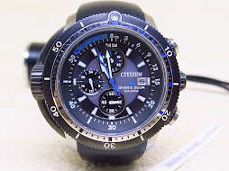 CITIZEN DIVER 200M - ECODRIVE - SENSOR SYSTEM