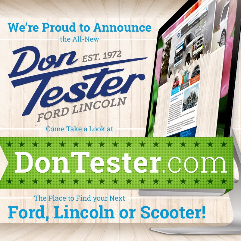 NEW Don Tester Ford Lincoln Website is LIVE!
