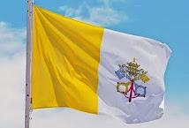 La bandera del Vaticano