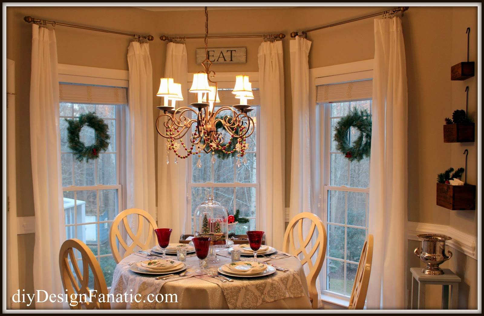 the wreaths were a closeout several years ago from home decoratorscom i use a command strip hook to hang them from the windows - Home Decoratorscom