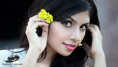 Bangladeshi mdel and actress Nawshaba