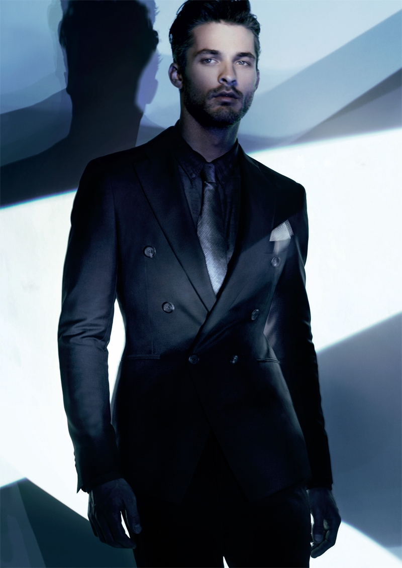 Armani mans Coats | Giorgio Armani suits for men 2011-2012