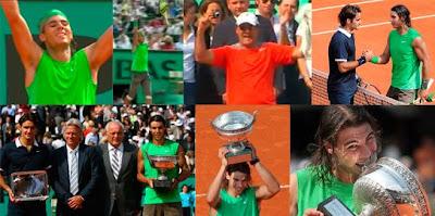 Nadal gana la final de Roland Garros 2008 ante Roger Federer