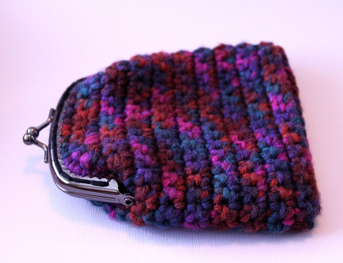 Simple Crochet Coin Purse : Free Bird Handmade: Crochet Coin Purse