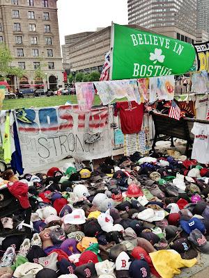 2013 boston marathon bombing memorial site