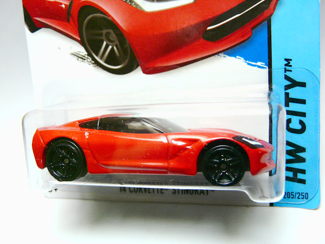 Hot Wheels 2014 Corvette Stingray (2013 New Models):