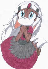 Dalila Moon the Vampire Wolf-Bat