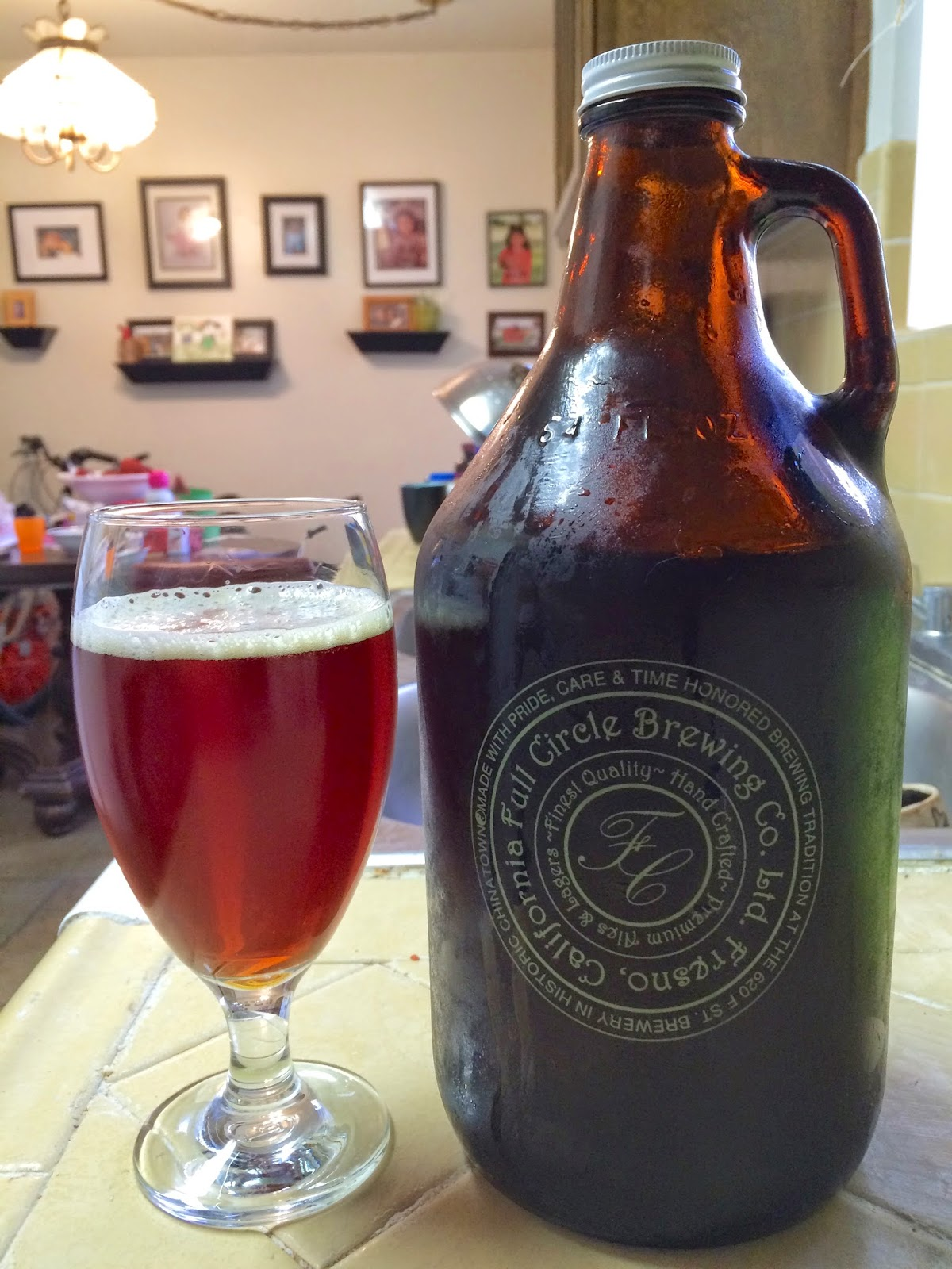 Full Circle Brewing High Speed Rail Ale 1