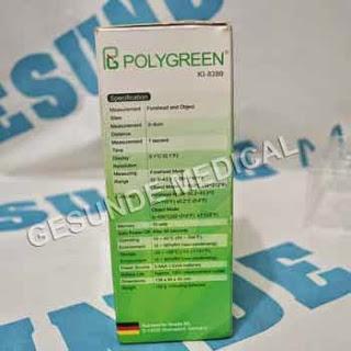 beli termometer infrared digital polygreen