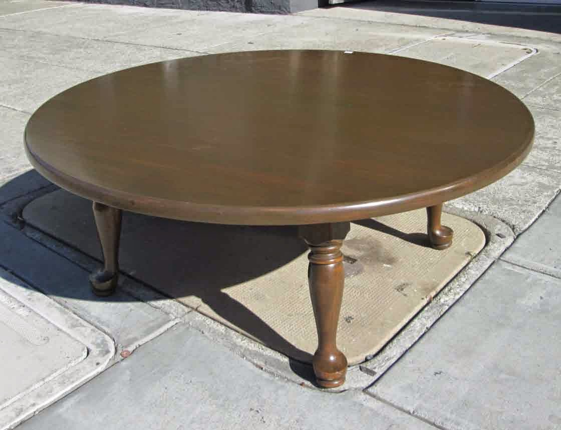 Uhuru Furniture Collectibles Sold Round Coffee Table 30