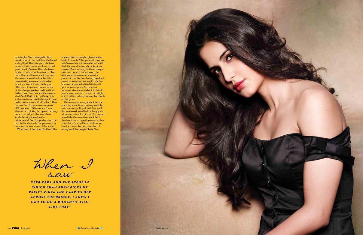 katrina kaif fhm magazine stills
