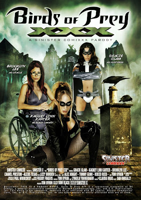 DVD box cover for Birds of Prey XXX