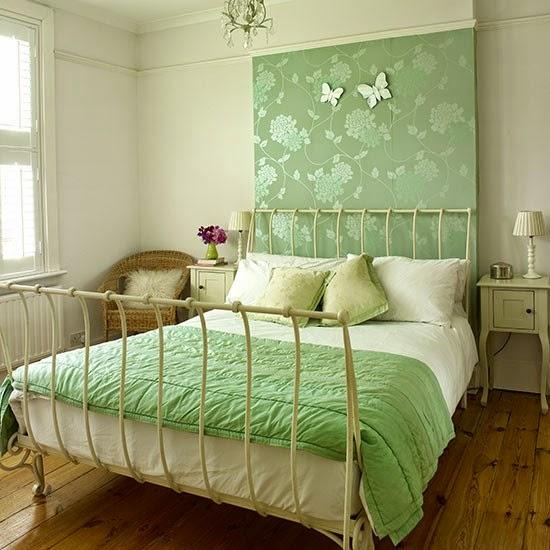 15 quartos de Casal com tecido na parede Decoração e  ~ Revestir Parede De Quarto Com Tecido