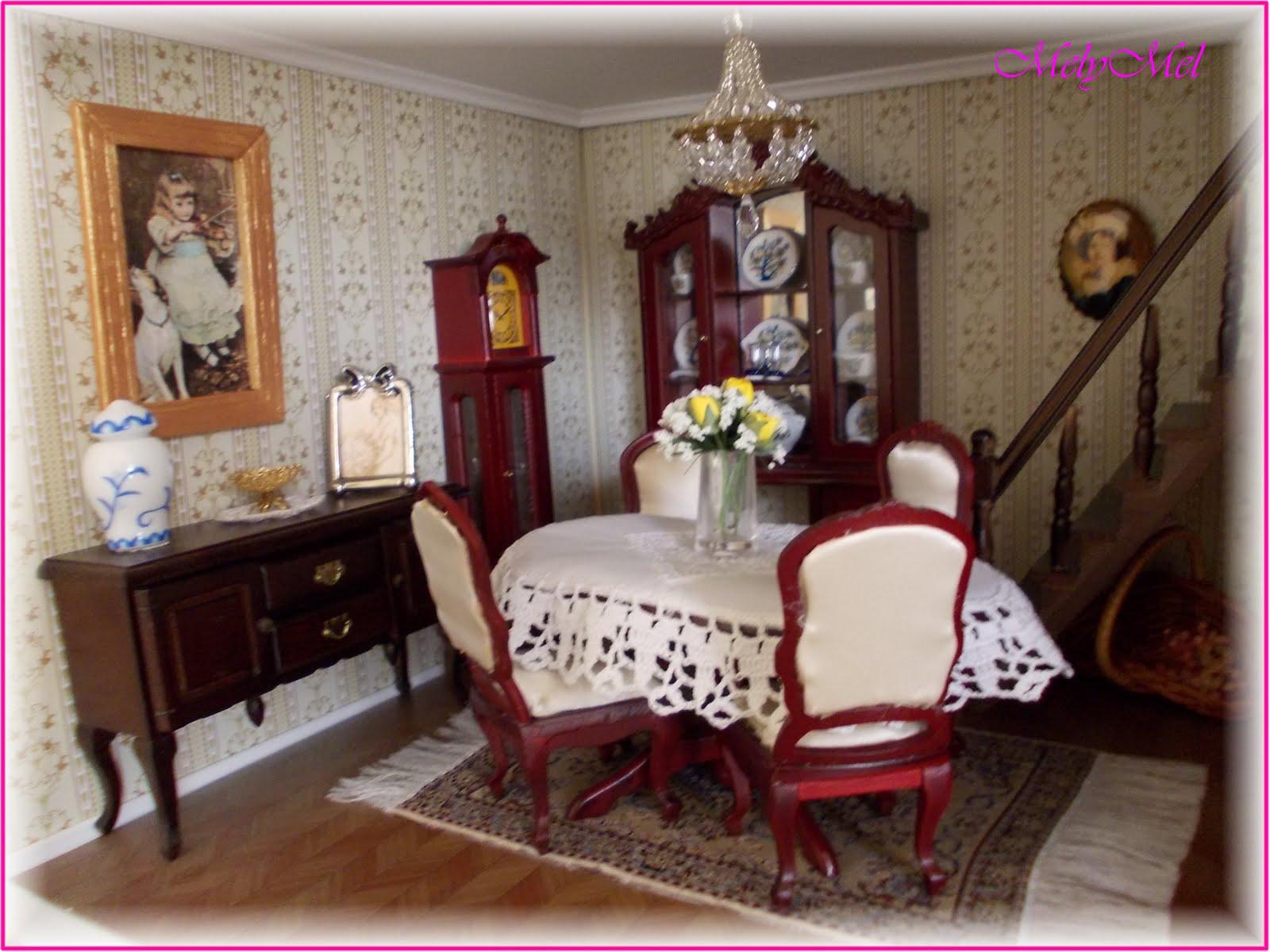 Melymel piccoli sogni la sala da pranzo prima parte for Sala pranzo vecchia