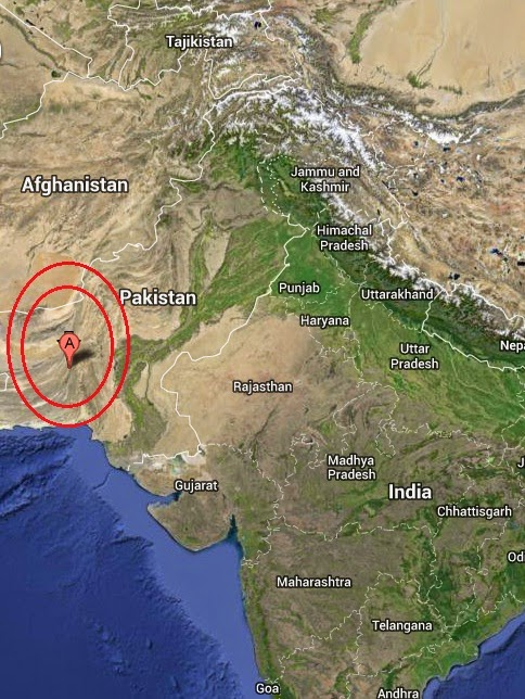 Magnitude 5.1 Earthquake of Awaran, Pakistan 2014-09-25