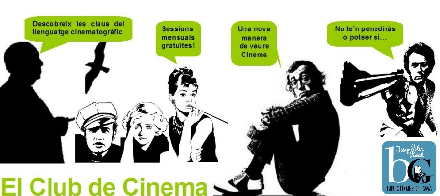 El Club de Cinema de la  Biblioteca Josep Soler Vidal de Gavà