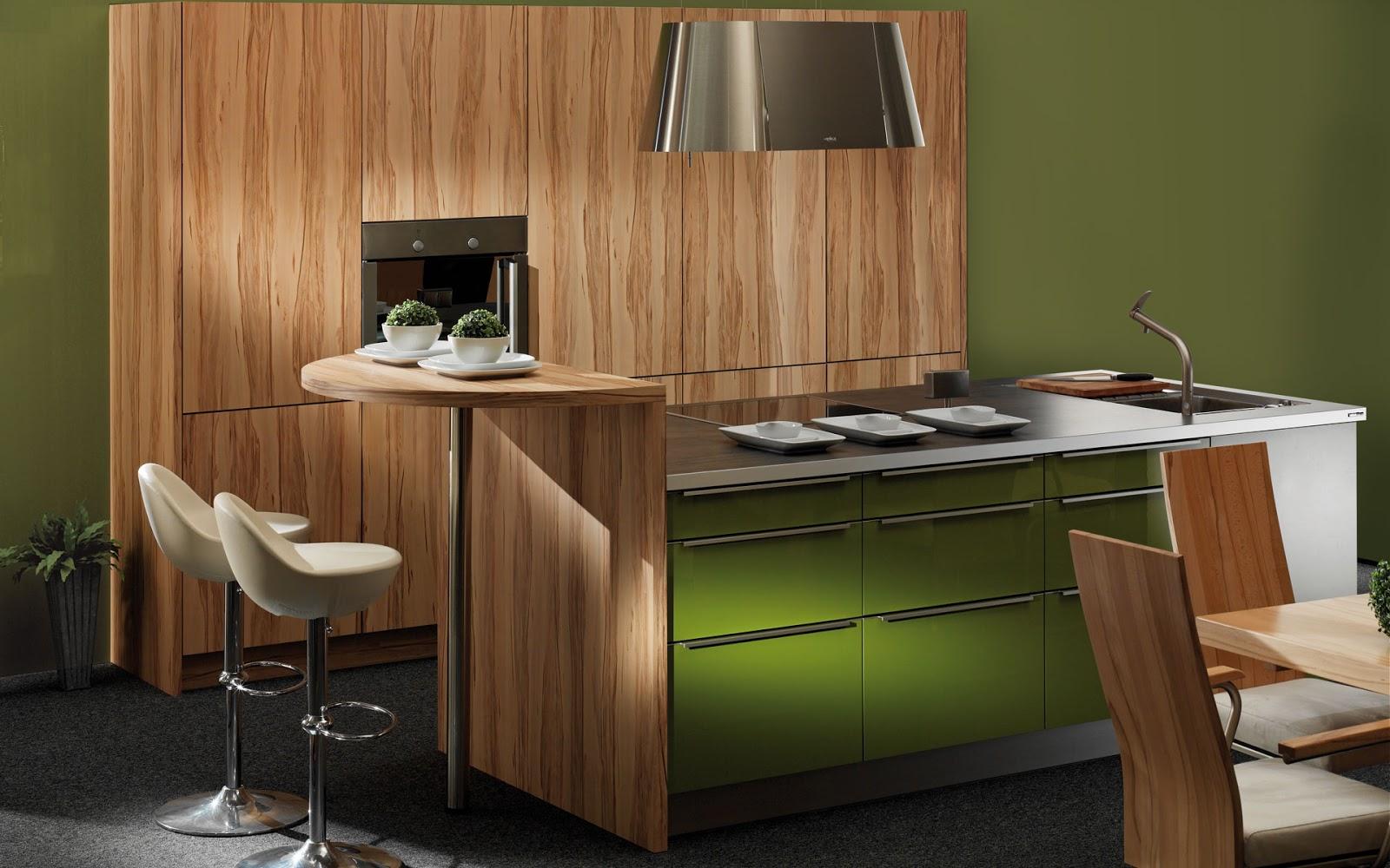 30 ideas de mesas y barras para comer en la cocina for Disenos de barras para cocina