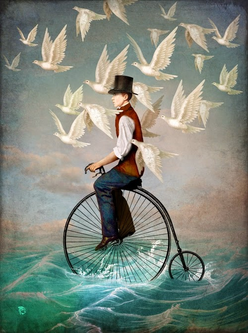 26-Ocean-Ride-Christian-Schloevery-Surreal-Paintings-Balance-of-Mind-and-Heart-www-designstack-co