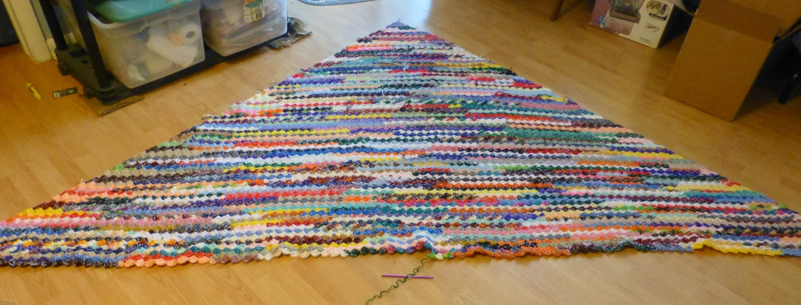 Crochet Pattern For C2c Afghan : Debs Crochet: My Crochet Today C2C Afghan