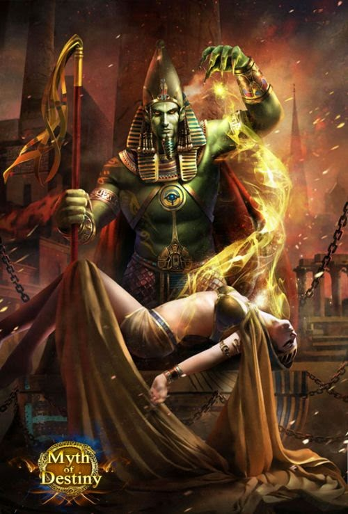 guicaimumu chinese artist illustrations fantasy card games Pharaoh