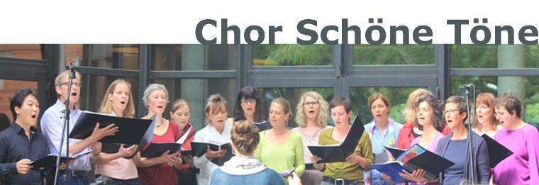 Chor Schöne Töne
