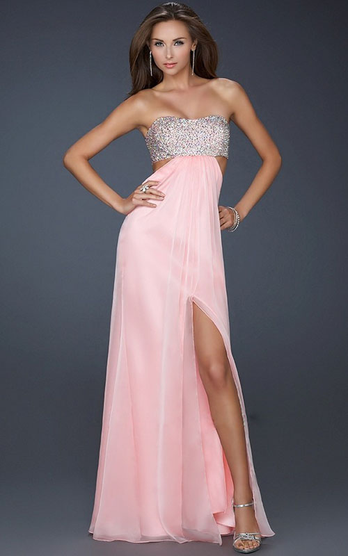 homecoming dazlling prom dresses 2013: Lovely Pink Homecoming Prom ...