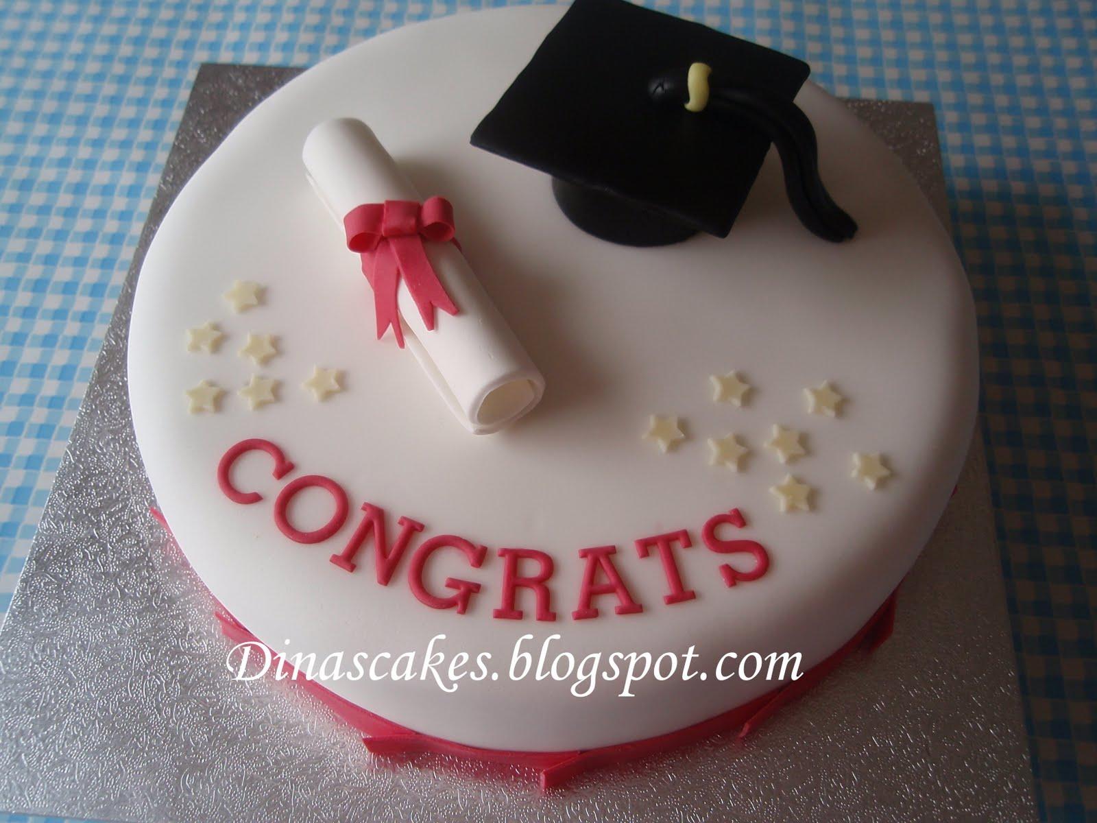 Dina S Cakes Graduation Cake