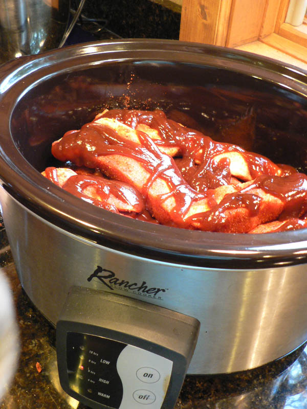 Cooking Ribs In ...Y Style Barbecued Ribs Recipe In Crock Pot