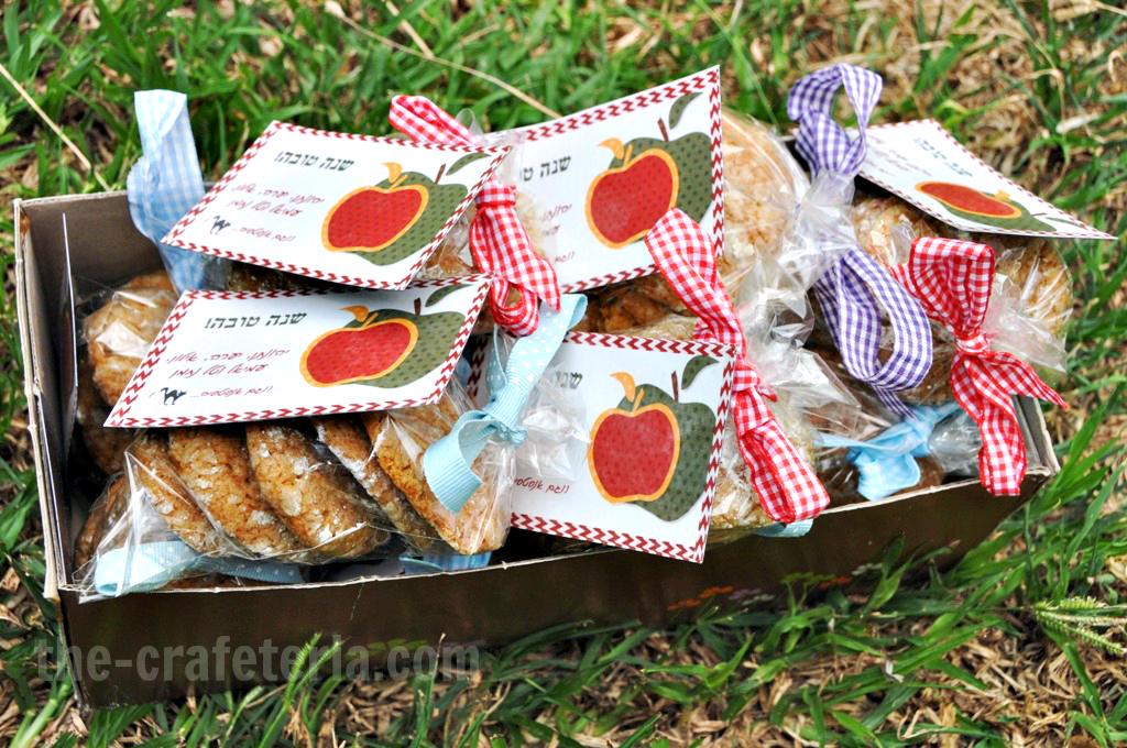 Cookies & Rosh Hashana refrigirator magnets