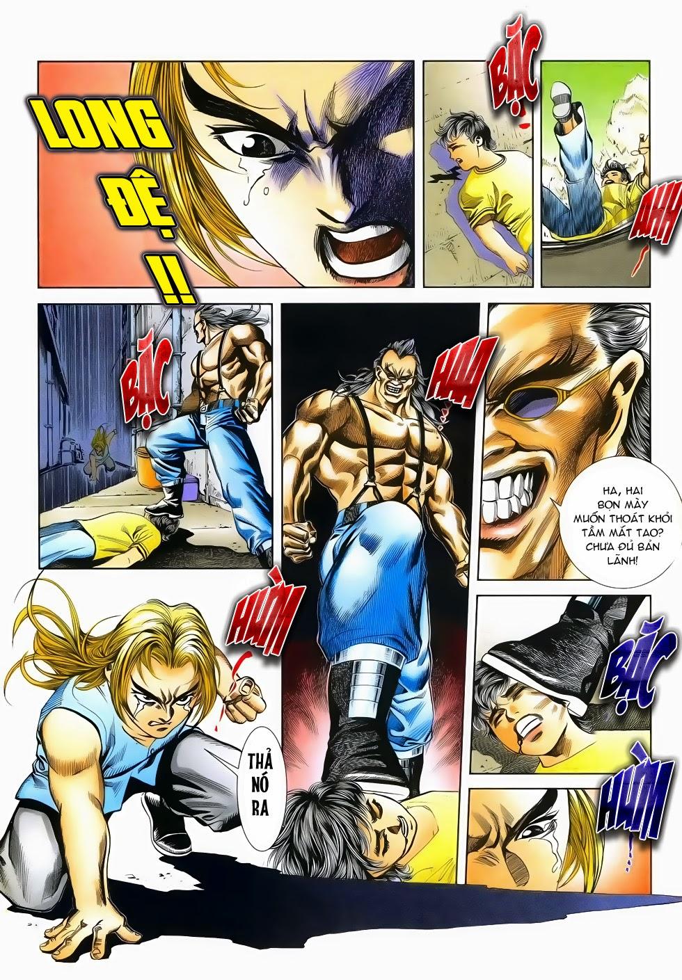 Long Hổ Phong Bạo chap 2 - Trang 31