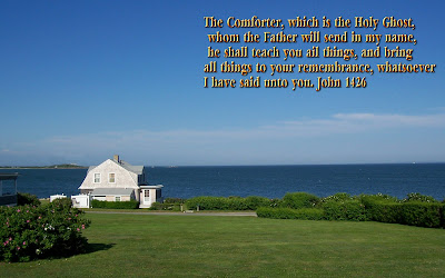 Beautiful Scenic Bible Verse Wallpaper