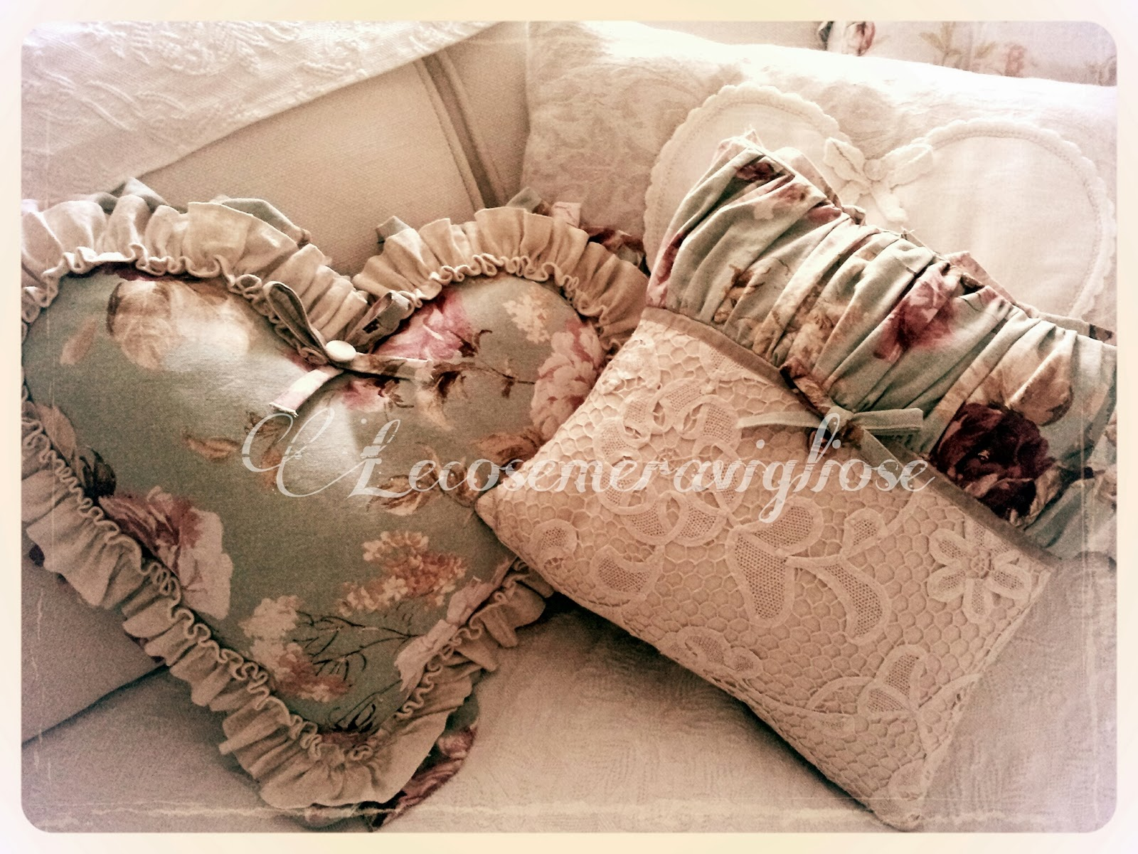 Lecosemeravigliose Shabby E Country Chic Passions Tende Cuscini E