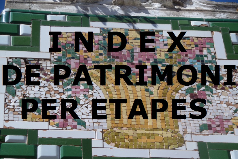 Index de patrimoni per etapes