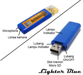 Spy Cam Lighter/Kamera Pengintai bentuk korek api1