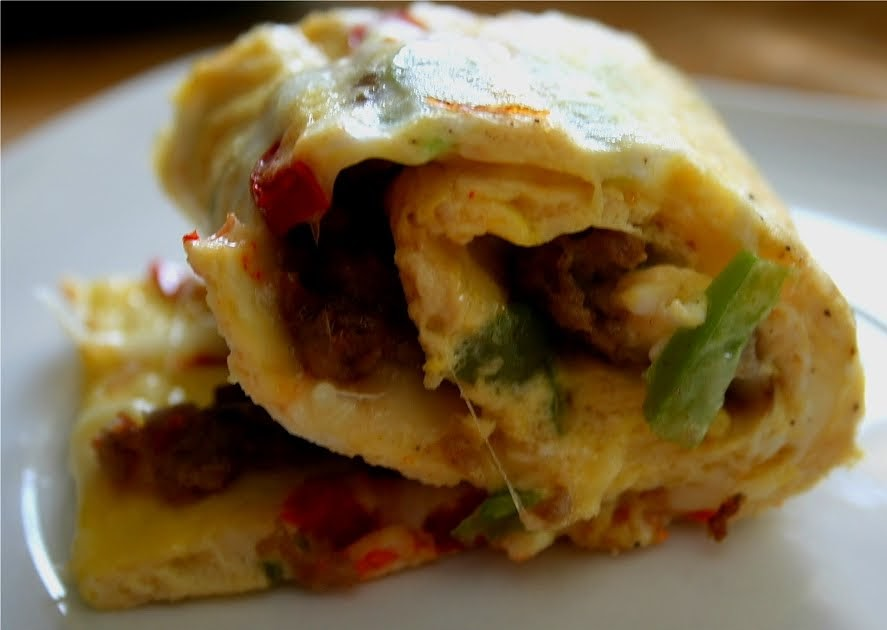 Oven Baked Rolled Omelet