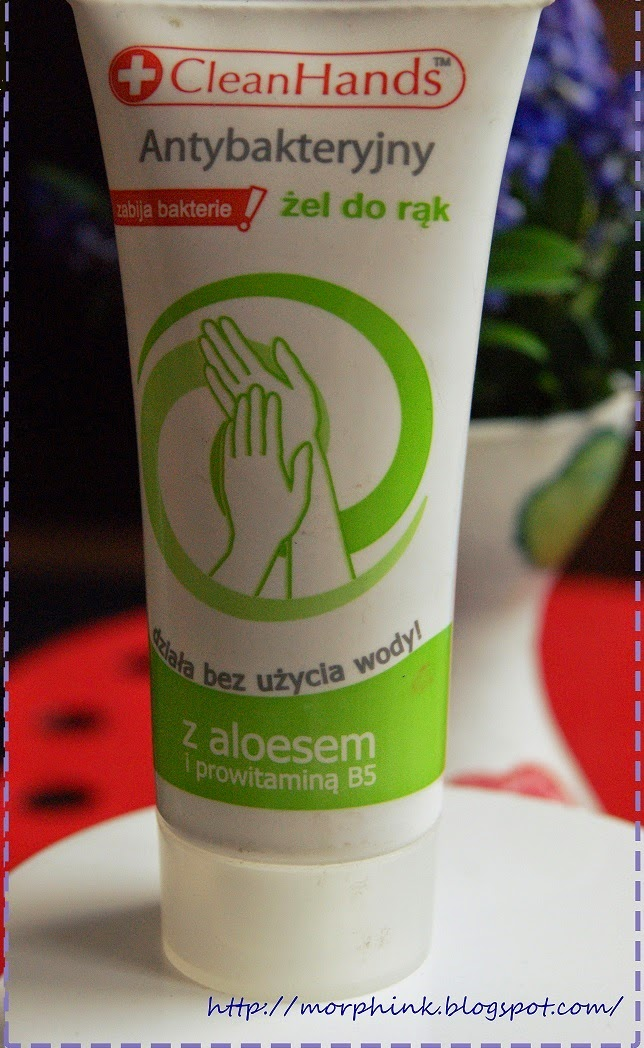 Żel antybakteryjny Clean Hands