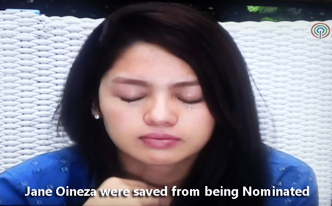 Jane Oineza were saved from being Nominated
