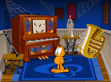 Garfield's Scary Scavenger Hunt