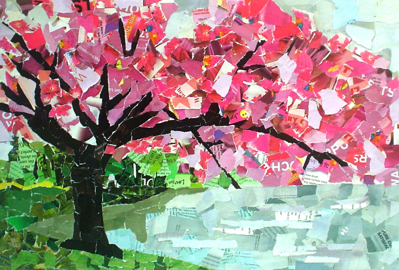 paper collage art lesson plans This lesson focuses on artwork and storytelling students will study a work of art, tell a story based on that work of art, and make their own paper collage.