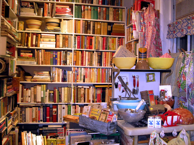 Julia Child would be proud of the collection of cookbooks at Bonnie Slotnick Cookbooks