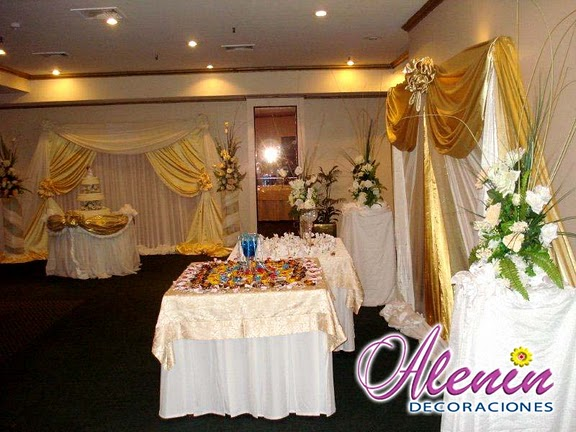 aniversarios y bodas: * decoración bodas en el hotel excelsior