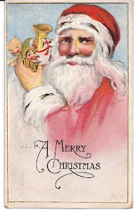 Early Santa Postcards