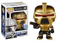 Funko Pop! Gold Cylon Commander